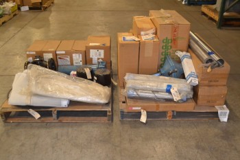 2 PALLETS OF ASSORTED PNEUMATICS