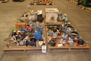 4 PALLETS OF ASSORTED STEEL VALVES