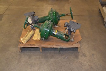 LOT OF 2 FISHER CONTROL VALVE REPLACEMENT PARTS