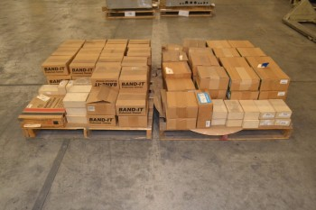 2 PALLETS OF ASSORTED HARDWARE