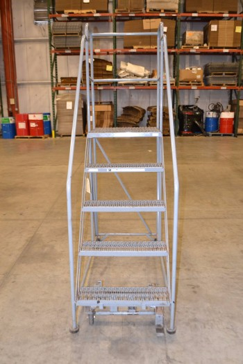 COTTERMAN ROLLING LADDER, 800 LB CAPACITY