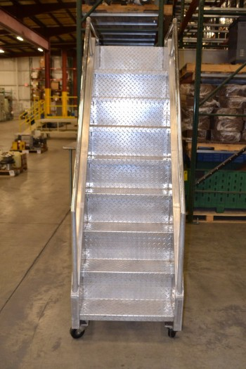 GRAYBILL MACHINES ROLLING LADDER, MODEL 9-84