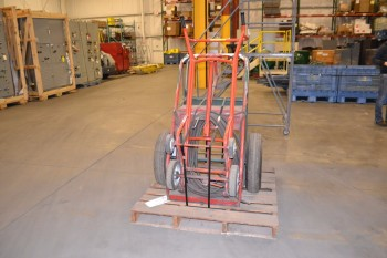 LOT OF 3 STEEL WELDING CARTS