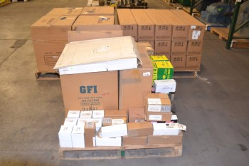 3 PALLETS OF ASSORTED HYDRAULIC AND PNEUMATIC FILTERS