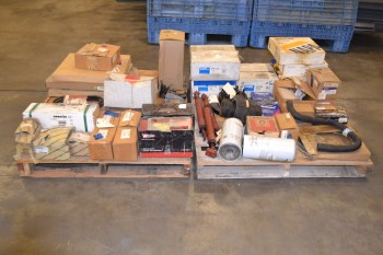 2 PALLETS OF ASSORTED TRUCK PARTS