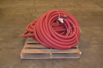 LOT OF 2 RAWHIDE 100 FT 2 IN FIRE HOSES, 250 PSI