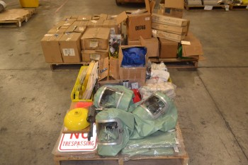 3 PALLETS OF ASSORTED SAFTEY EQUIPMENT