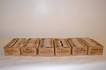 LOT OF 6 BOXES LUVATA OHIO MWZ6006 FB25Z00 ELECTRODE CAPS