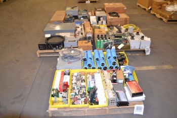 5 PALLETS OF ASSORTED ELECTRICAL