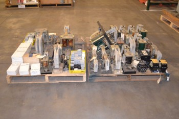 2 PALLETS OF ASSORTED CONTACTORS