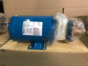 Burks Feed Pump and Motor