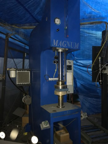 Magnum HFM-25A Hydraulic Press