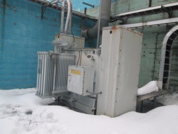 ABB 13,800 Volt Transformer 480Y/277 3500 Kva New 1995 3Ph Insulated