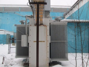 ABB Powertransformer 13.8 KV To 2.4 Kv  5600 KVA New 1996 3Ph 60 Hz