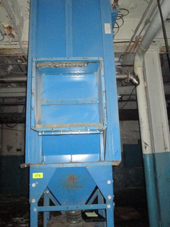 Donaldson Model 16-PJD-6 4 Filter 12\'T Dust Collector Working Condition Nice!