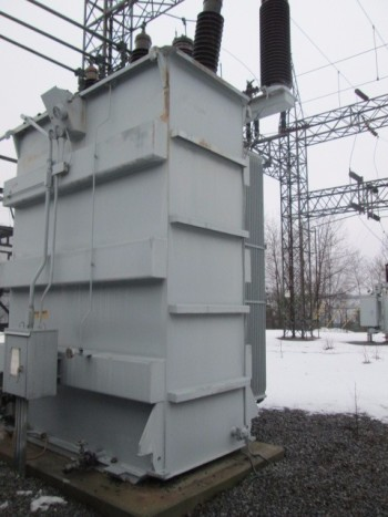 General Electric 3Ph 115,000-139,000 Y Transformer 22,400 Kva Sub Station