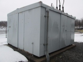 Substation Power Utility Shed For Monitering 115Kv To 14 Kv Sold Complete!
