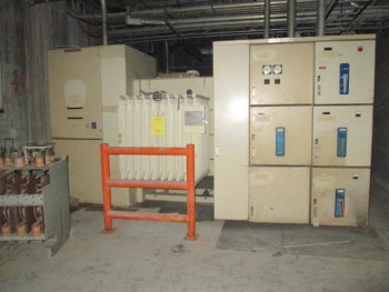General Electric 14.4 Kv 1500 Kva Amp 480 Volt 3Ph Transformer