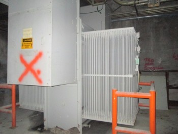 General Electric 5600Kva 14.4 Kv To 2.4Kv Silicone Coolant 3Ph 60Hz Substation