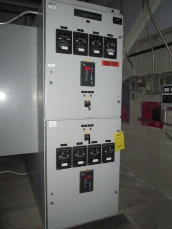 Central Electric Co 13.8 Kva 1200 Amp 500 Mva 95 Kv BIL Switch Gear By AZZ Inc.