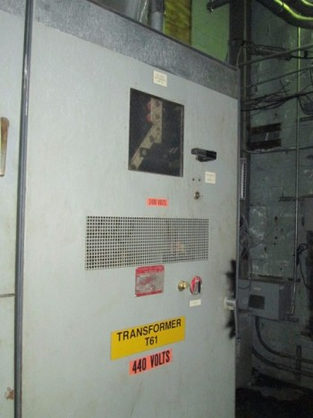 General Electric 9T28Y7925 G04 2400-480 Volt 3Ph 60Hz  112.5 Kva Transformer