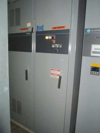 Allen Bradley 1336 Variable Torque 460 Volt 200Hp 187 Kva Control Panel