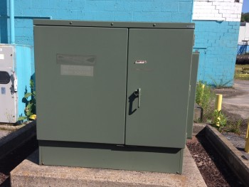 Howard Industries 2400H.Volt 500 Kva 3Ph Transformer Nema Size 3R Enclosure