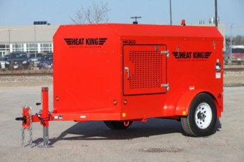 2002 HEAT KING HK150 TOWABLE HEATER