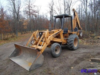 2010 CASE 580B LOADER BACKHOES