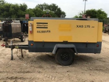 2012 ATLAS COPCO XAS375JD6 AIR COMPRESSOR