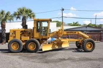 1989 CATERPILLAR 140G MOTOR GRADERS