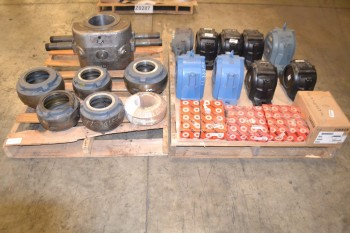 2 PALLETS OF ASSORTED BEARINGS AND HOUSINGS