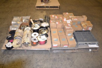 2 PALLETS OF ASSORTED ELECTRICAL EQUIPMENT