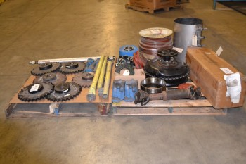 2 PALLETS OF ASSORTED POWER TRANSMISSION