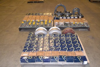 3 PALLETS OF ASSORTED BEARINGS
