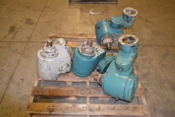 LOT OF 4 S-E-Co. GEAR REDUCERS
