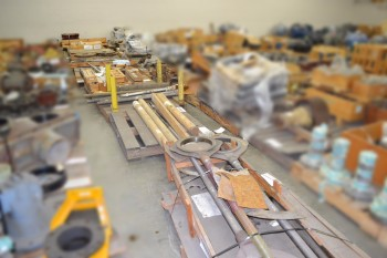 10 PALLETS OF ASSORTED COUPLING AND SHAFT REPLACEMENT PARTS