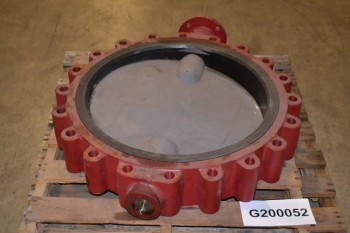 WECO 24 IN BUTTERFLY VALVE, FLANGED