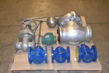 1 PALLET OF ASSORTED VALVES