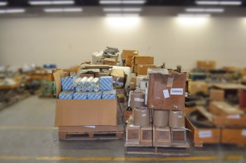 26 PALLETS OF MISCELLANEOUS INDUSTRIAL EQUIPMENT, ELECTRICAL