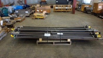 PALLET OF FOSSIL POWER 9020-250 STEEL TUBES 19FT 1.500 X 0.145 IN