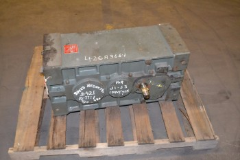 HANSEN GEAR REDUCER D421-BN, 32HP, 1750RPM, 12.77:1
