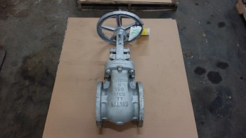 NEWCO 11F-CN42-NC 6IN 150 STEEL FLANGED GATE VALVE