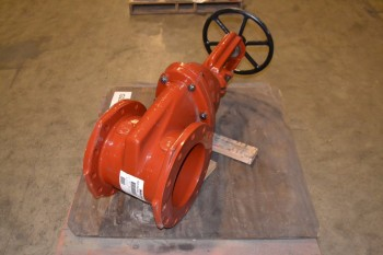 MUELLER R23606L.250 WEDGE GATE VALVE, 10 IN