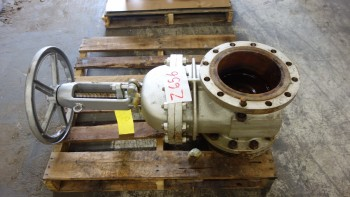 NEWCO 11F-CN42-NC 10IN 150 STEEL FLANGED GATE VALVE
