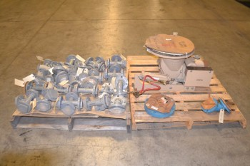 2 PALLETS OF ASSORTED VALVE REPLACEMENT PARTS