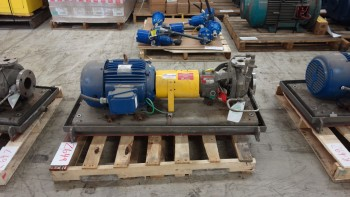 FLOWSERVE MK3 STD 3 X 1.5IN 15HP 575V-AC STAINLESS CENTRIFUGAL PUMP