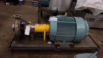 FLOWSERVE DURCO MK3 STD BOILER FEED CENTRIFUGAL PUMP W/ TECO 25HP MOTOR