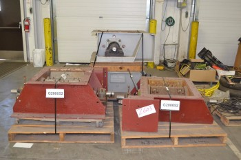 LOT OF 4 UNITED CONVEYOR EXCEN CRUSHER PULVERIZER