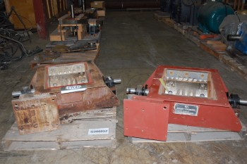 LOT OF 2 UNITED CONVEYOR EXCEN CRUSHER PULVERIZER